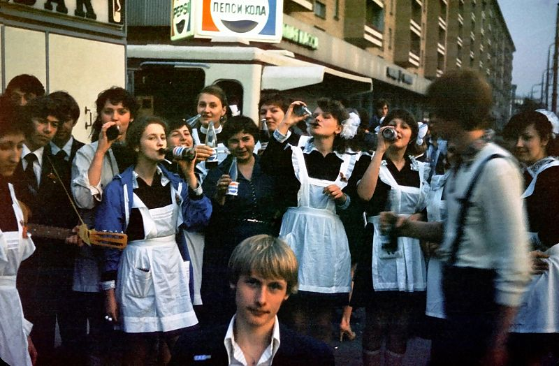 1981 May 25 Generation Pepsi Moscow