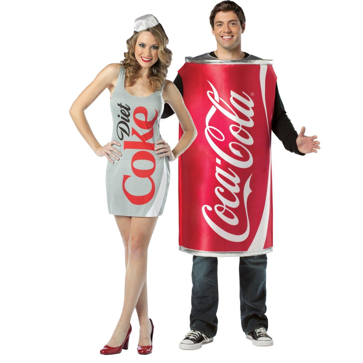 Adult Coke And Diet Coke Couples Costume Cx 809423