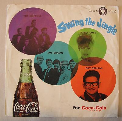 Swing The Jingle Coke Record With Los Bravos Roy Orbison Lesle Gore Coca Cola 1639889