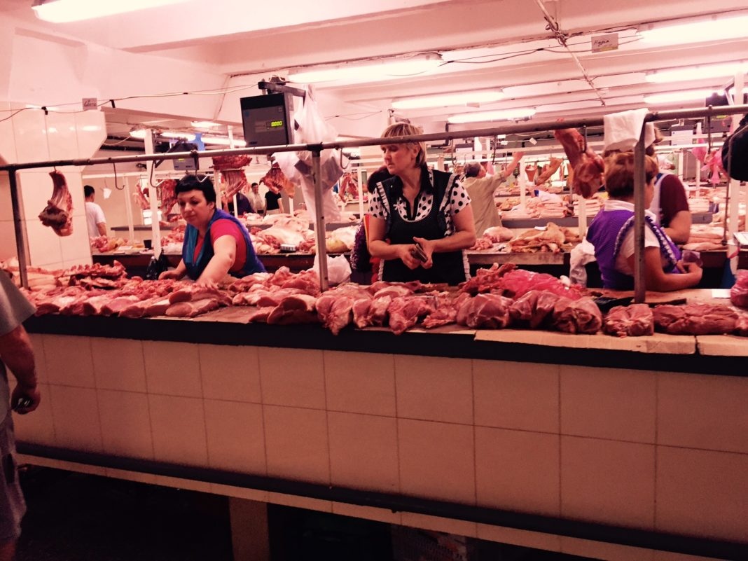 Meat Place The Most Expensive Meat Is In Kiev And The Cheapest Is In Ternopil