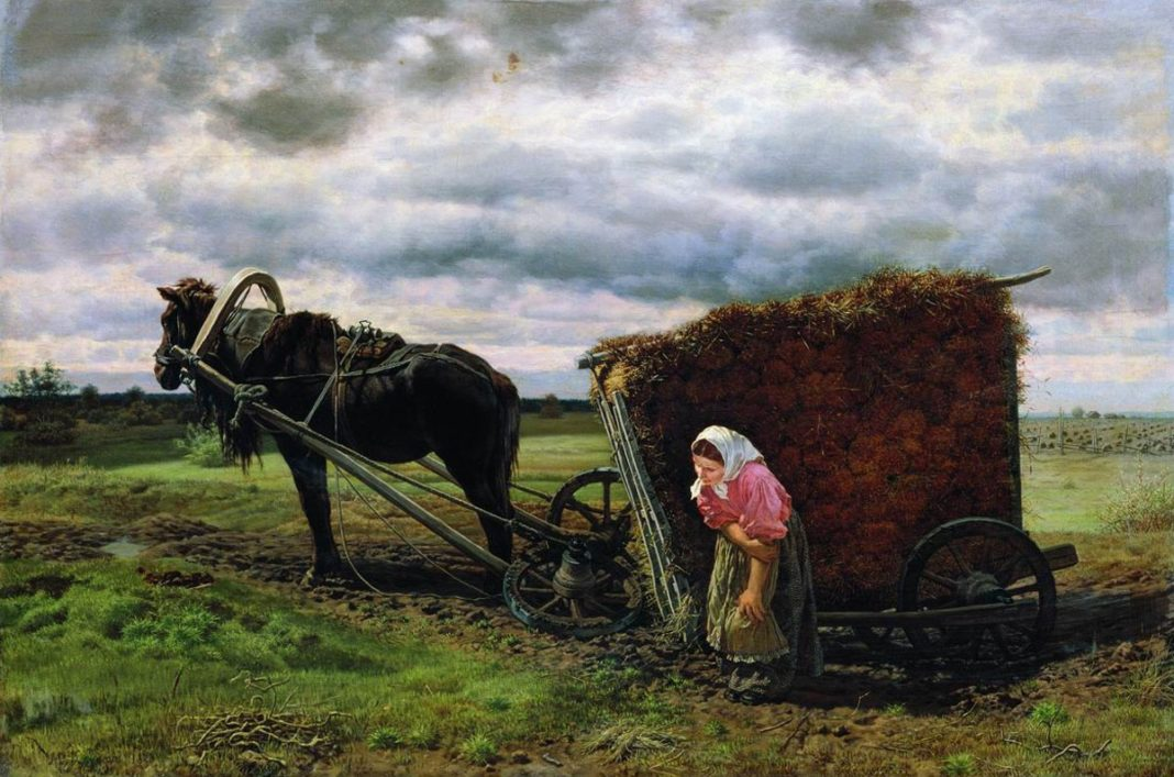 When The Woman Gets Off The Cart 72 Of Women Working In Agriculture Suffer From Discrimination