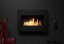 Art Wallmount Ethanol Fireplace Ah100 218x150