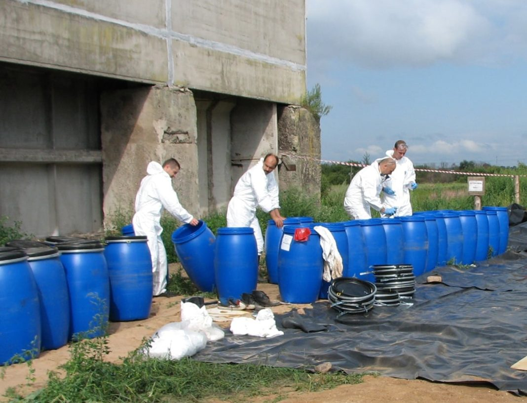 Contained Pollution In Ukraine At Most Half Of The Containers From The Agrochemicals Are Utilized