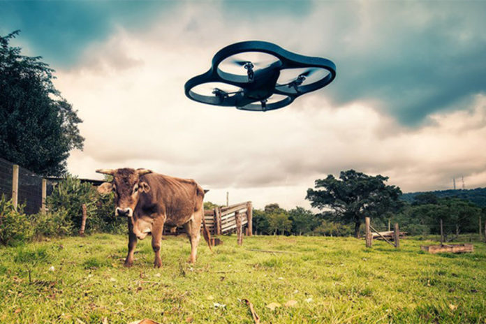Agricopter 40 Of The Drones Market Work In Agriculture