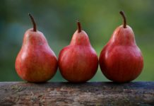 Red Pears Fruit Close Up 1920x1200 218x150