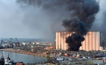 Prychynoyu Vybuhu V Livanskomu Portu Bejruta Stalo Nepravylne Zberigannya 27 Tys Amiachnoyi Selitry