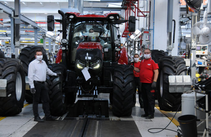 Zavod Z Vyrobnytstva Traktoriv Case Ih Zdobuv Prestyzhnu Nagorodu